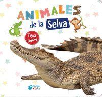 ANIMALES DE LA SELVA (TEXTURAS)