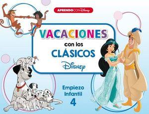 VACACIONES CON LOS CLASICOS DISNEY. EMPIEZO INFANTIL 4