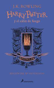 HARRY POTTER Y EL CALIZ DE FUEGO (EDICION RAVENCLAW DEL 20º ANIVERSARIO)