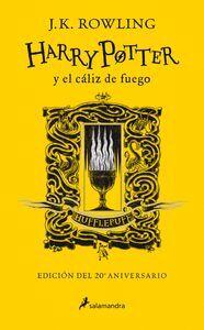 HARRY POTTER Y EL CALIZ DE FUEGO (EDICION HUFFLEPUFF DEL 20º ANIVERSARIO)