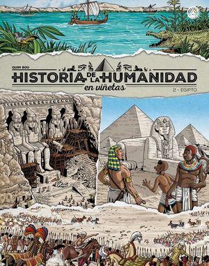 HISTORIA DE LA HUMANIDAD EN VIÑETAS, 2 EGIPTO