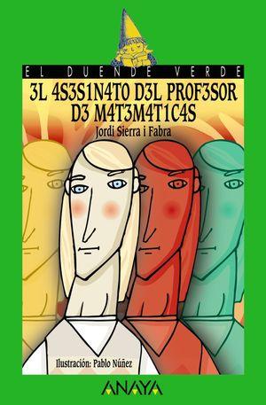 ASESINATO DEL PROFESOR DE MATEMATICAS. ANAYA