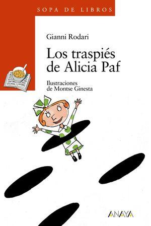 LOS TRASPIÉS DE ALICIA PAF -SOPA DE LIBROS-