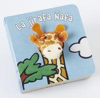 LA JIRAFA ÑAFA - LIBRODEDOS - LIBRO MARIONETA DEDO