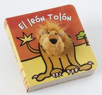 EL LEÓN TOLÓN - LIBRODEDOS - LIBRO MARIONETA DEDO