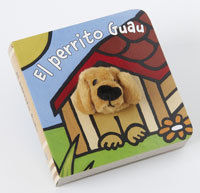 EL PERRITO GUAU - LIBRODEDOS - LIBRO MARIONETA DEDO