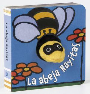 LA ABEJA RAYITAS - LIBRODEDOS - LIBRO MARIONETA DEDO
