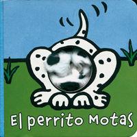 EL PERRITO MOTAS - LIBRODEDOS - LIBRO MARIONETA DEDO