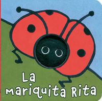 LA MARIQUITA RITA - LIBRODEDOS - LIBRO MARIONETA  DEDO