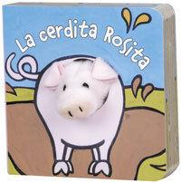 LA CERDITA ROSITA - LIBRODEDOS - LIBRO MARIONETA DEDO