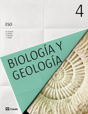 BIOLOGÍA Y GEOLOGÍA 4 ESO (2016)