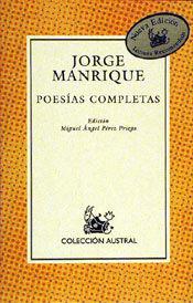 POESIAS COMPLETAS - JORGE MANRIQUE - AUSTRAL