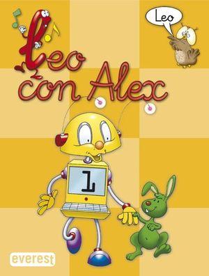 LEO CON ALEX--, EDUCACIÓN INFANTIL, LECTURA 1