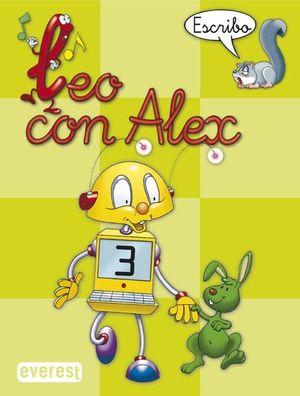 LEO CON ALEX. ESCRIBO 3 - EVEREST