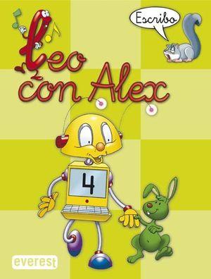 LEO CON ALEX. ESCRIBO 4 - EVEREST
