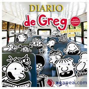 CALENDARIO 2018 DE DIARIO DE GREG