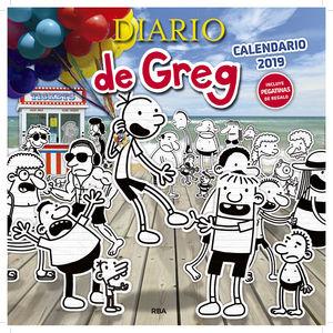 CALENDARIO DE GREG 2019