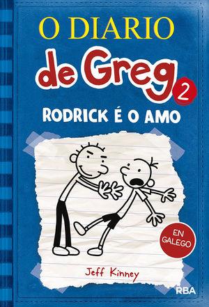 (GALEGO) O DIARIO DE GREG 2. RODRICK É O AMO