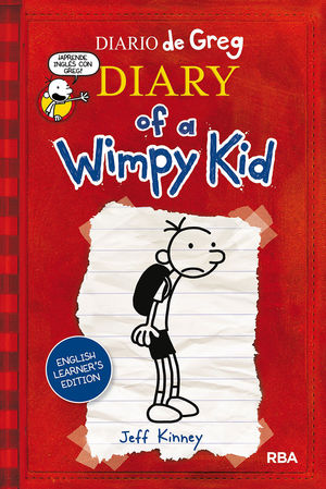 DIARIO DE GREG 1. DIARY OF A WIMPY KID  ENGLISH LEARNER'S EDITION