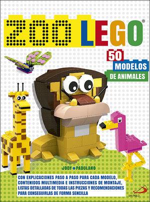 ZOO LEGO 50 MODELOS DE ANIMALES