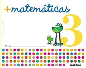 MAS MATEMATICAS 3 ED05 SANTILLANA