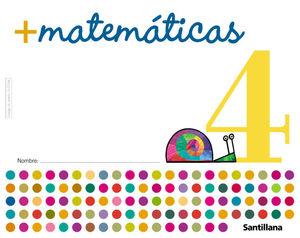 MAS MATEMATICAS 4 ED05 SANTILLANA
