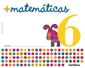 MAS MATEMATICAS 6 ED05 SANTILLANA