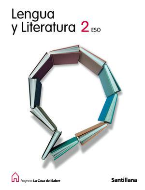 2ESO LENGUA Y LITER CASA DEL SABER ED08