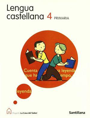 LENGUA 4  CASA DEL SABER,  EDUCACIÓN PRIMARIA