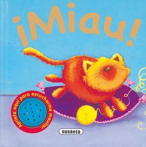 MIAU - GATO - SONIDOS DE ANIMALES - LIBRO SONIDOS