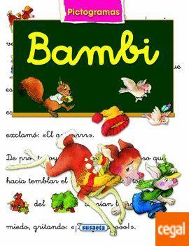 BAMBI - LIBRO CON PICTOGRAMAS - MARIFE GONZALEZ/ ANA SERNA VARA - SUSAETA