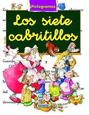 LOS SIETE CABRITILLOS - LIBRO CON  PICTOGRAMAS - MARIFE GONZALEZ/ANA SERNA VARA - SUSAETA
