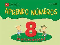 (08).APRENDO NUMEROS 8 (5-6 AÑOS)