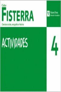 CABO FISTERRA, CIENCIAS SOCIAIS, XEOGRAFÍA E HISTORIA, 4 ESO. ACTIVIDADES