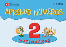 (08).APRENDO NUMEROS 2.(3-4 AÑOS)