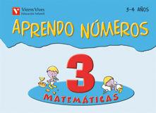 (08).APRENDO NUMEROS 3.(3-4 AÑOS)