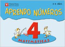 (08).APRENDO NUMEROS 4.(3-4 AÑOS)