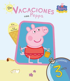 DE VACACIONES CON PEPPA - 3 AÑOS (PEPPA PIG. CUADERNO DE ACTIVIDADES)