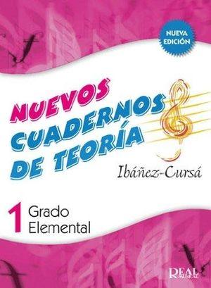 NUEVOS CUADERNOS DE TEORIA 1 REAL MUSICAL