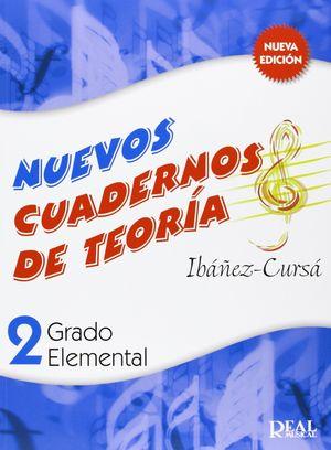 NUEVOS CUADERNOS DE TEORIA 2 REAL MUSICAL