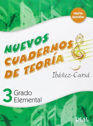 NUEVOS CUADERNOS DE TEORIA 3 REAL MUSICAL