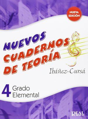 NUEVOS CUADERNOS DE TEORIA 4 REAL MUSICAL
