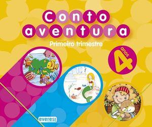 CUENTOAVENTURAS, 4 ANOS. 1 TRIMESTRE