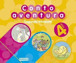 CUENTOAVENTURAS, 4 ANOS. 2 TRIMESTRE