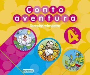 CUENTOAVENTURAS, EDUCACIÓN INFANTIL, 4 AÑOS. 3 TRIMESTRE