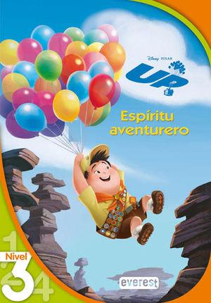 UP. ESPÍRITU DE LA AVENTURA. LECTURA NIVEL 3