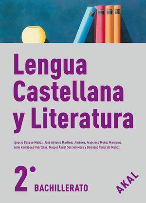 BACH 2º LENGUA CASTELLANA Y LITERATURA 2009