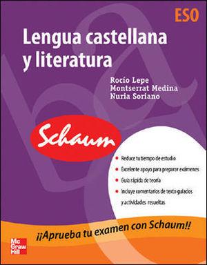 LENGUA CASTELLANA Y LITERATURA.ESO.(APRUEBA EXAMEN SCHAUM)