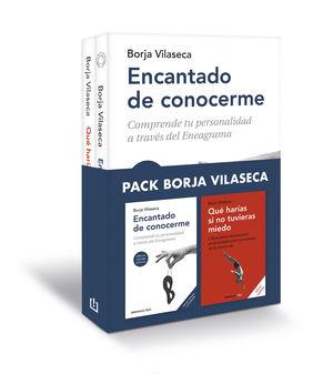 PACK BORJA VILASECA (CONTIENE: ENCANTADO DE CONOCERME  QUE HARIAS SI NO TUVIERA