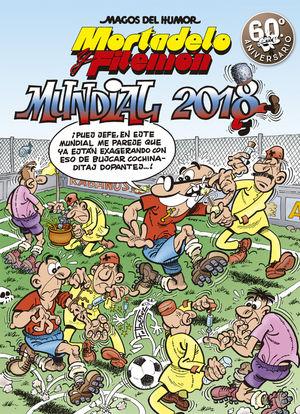 188 MUNDIAL 2018 (MAGOS DEL HUMOR MORTADELO Y FILEMÓN)
